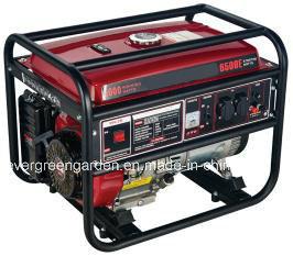 De hete Generators Met geringe geluidssterkte van de Benzine van de Verkoop 6000W Draagbare naar huis Gebruikte