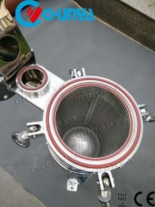 De enige Hoogste Huisvesting van de Filter van de Zak van de Ingang voor de Behandeling van het Water