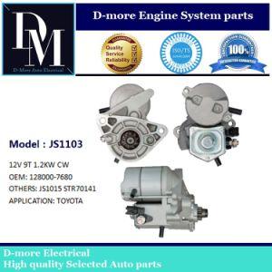 日本Densoの始動機モーター128000-7680トヨタHiace 2.4L