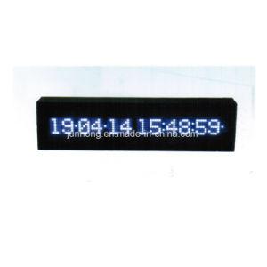 Digital LED Fecha y hora de reloj de mesa