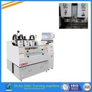 3 cabeças de corte da máquina de corte CNC de alta precisão para a proteção de tela e Protector de vidro temperado