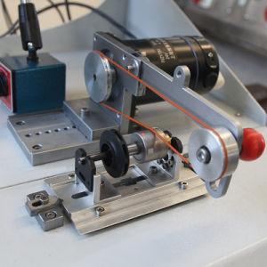 Wechselstrommotor-dynamische Armaturen-balancierende Maschine mit Riemenantrieb