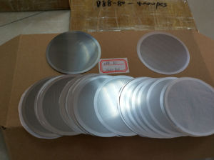 SS316 Aço inoxidável gravado químicas foto folha de metal perfurada