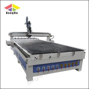 空気冷却スピンドル小型3つの軸線Atc CNCのルーター機械
