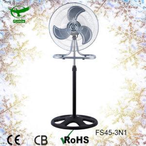 Blad 18 van Aluminium vier de Bevindende Ventilator van de  KoelVentilator