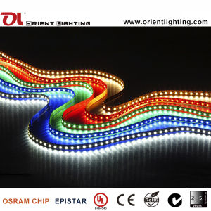 1210/3528 9.6W 24V 120 LEDs IP 3000K20 Luz de LED