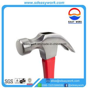 Revestido de fibra de vidrio Claw Hammer/ Herramientas de mano