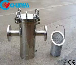 Edelstahl-Korb-Typ Filtergehäuse-Gerät