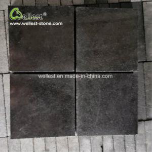 建築材料の黒の真珠の花こう岩の玉石の石のペーバー、床の敷石