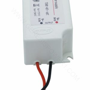 25W 24V resistente al agua Modo de conmutación de CCTV LED DC Driver Transformador de alimentación, el modo de switch de salida única fuente de alimentación de CA CC exterior IP67 para Tira de luz LED