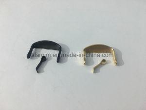 Pulido de acero inoxidable hebilla de la correa de reloj de oro