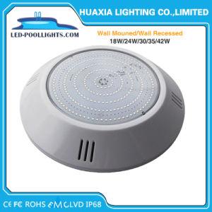 保証2年のの多色刷り42W IP68 LEDのプール水中ライト