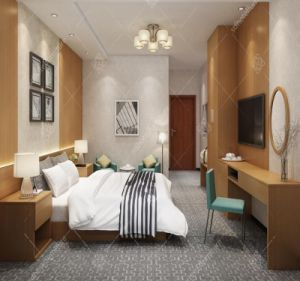 Mobilia di legno su ordine dell'hotel di disegno di Foshan