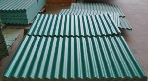 Lamiera ondulata rivestita ondulata di verniciatura dello strato del tetto/acciaio di colore