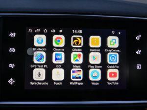 De androïde GPS Doos van het Systeem van de Navigatie voor Peugeot 208 2008 de VideoInterface van 308 408 508 Smeg Mrn
