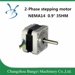 NEMA14 35hm 0.9degree 0.8A un motore facente un passo di 2 fasi