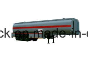 3 degli assi del serbatoio di combustibile del rimorchio/35cbm 42cbm 45cbm 50cbm 55cbm 60cbm del serbatoio di combustibile rimorchio resistente semi