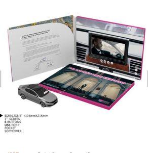 Bollettino del video dell'affissione a cristalli liquidi di 2.4-10.1 Digitahi di pollice