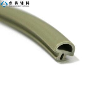 Sistema de cortina de vedação de borracha da porta de vidro de PVC