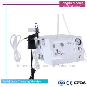 El oxígeno Jet Peeling facial rejuvenecimiento de la piel de la máquina para limpieza profunda