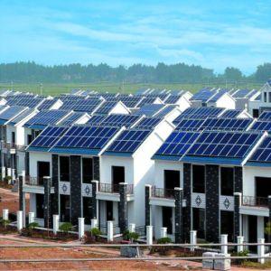 315W plus grande efficacité Poly PANNEAU SOLAIRE PV pour système d'alimentation solaire