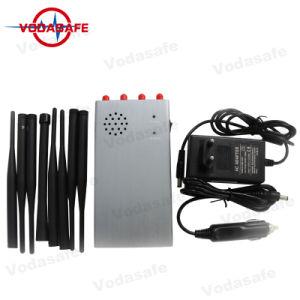 De Draagbare Stoorzender 8bands van de hoge Macht/Blocker, CDMA, GSM, 3G UMTS, 4G Lte Cellphone, GPS, wi-Fi/Bluetooth, de Draagbare Stoorzender van Acht Antenne voor Al Cellulaire GPS