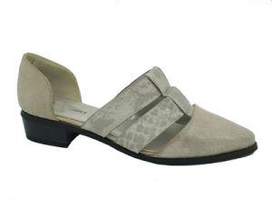 Les femmes Damris Siviglia occasionnels en deux pièces sans lacets creux en cuir des chaussures plates