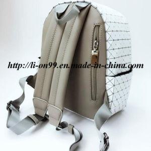 Nueva moda Mochila Casual PU doble bolsa bandolera con buena calidad precio muy competitivo