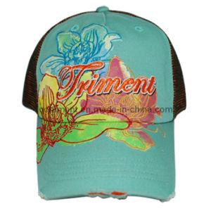 Alta qualidade de impressão de moda Bordados Sports Cap Hat (TRSDB03)
