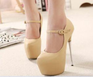 La moda sexy señoras de Tacón Zapatos de Vestir