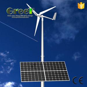 Sistema ibrido solare del vento orizzontale e verticale con Ce