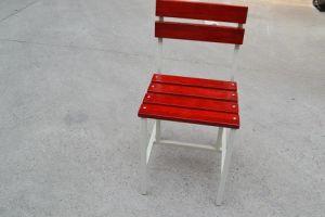 강철 가구 나무로 되는 가구 금속 의자