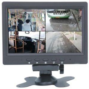 7 polegadas LCD Monitor CCTV com 4 entrada Bncin