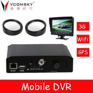 DVR móvel para a monitorização de autocarros e carros patrulha, táxis, os caminhões de entrega, veículos de transporte de prisão e os veículos de emergência