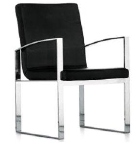 Silla de comedor Brazo muebles modernos de cuero restaurante Hotel ...