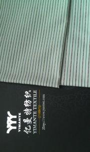 Streifen-Gewebe-Mann-Hemd-Gewebe des Art- und Weisegewebe-CVC
