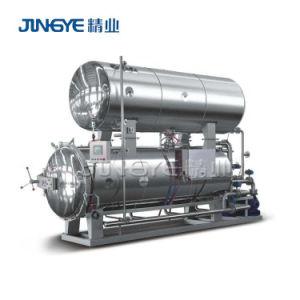 De grote Machine van de Retort van de Rang van het Voedsel van de Capaciteit Automatische Steriliserende