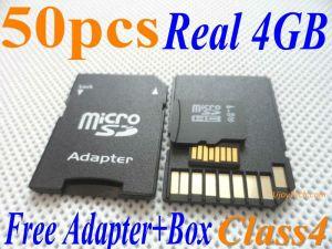 Großhandelsreale 4GB Mikro-Sd Karte der kategorien-4 (4GB-TF-UJOYTECH)