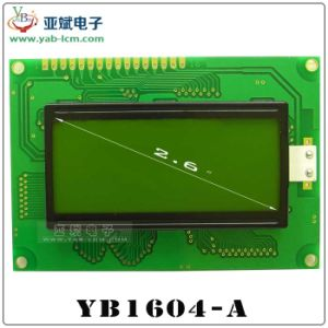 1604 fabbriche cinesi monocromatiche 16 * dello schermo a memoria d'immagine schermo dell'affissione a cristalli liquidi della grata 04