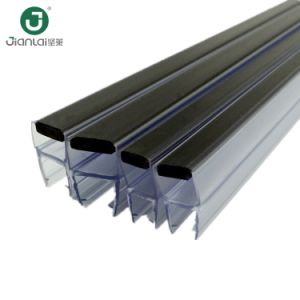 Le PVC et porte en verre commercial magnétique Bande d'étanchéité de l'eau