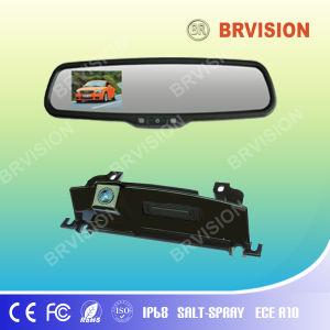 3.5 polegadas Monitor Espelho digital com câmara Benz