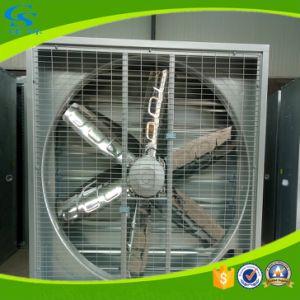 Étable des bovins laitiers pendaison étable de ventilation du ventilateur