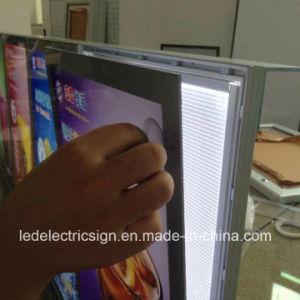 전시를 광고하는 알루미늄 자석 아크릴 장 LED 가벼운 상자