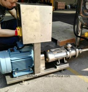 Edelstahl-Nahrungsmittelpartikel-Übergangszwilling-Schrauben-Pumpe