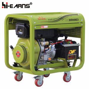 Air-Cooled開いたフレームタイプディーゼル発電機セット(DG8000E3)