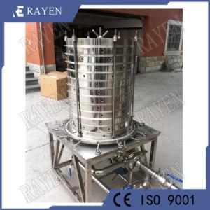 Filtro de membrana de agua de la placa de filtro de acero inoxidable