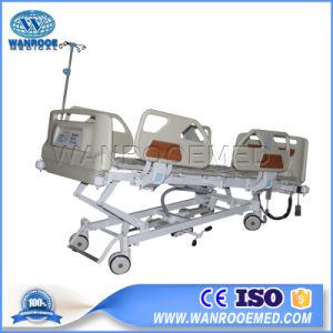 Bae502ICの病院の家具ICU 5機能調節可能な患者の電気ベッド