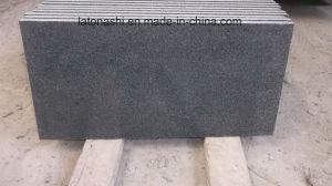 最も安い磨かれたG654 Padangの暗いインパラの灰色の花こう岩