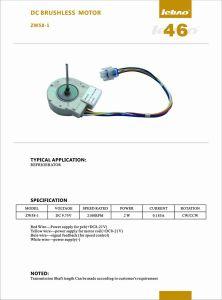 Refrigerador de velocidad variable del motor DC eléctricos de ahorro de energía de la bomba de agua