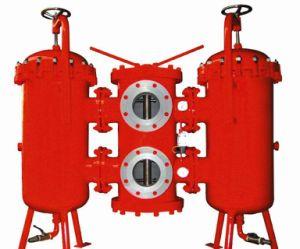 Kohlenstoffstahl Indufil Duplexschmierölfilter und Grobfilter für Hydraulikanlage